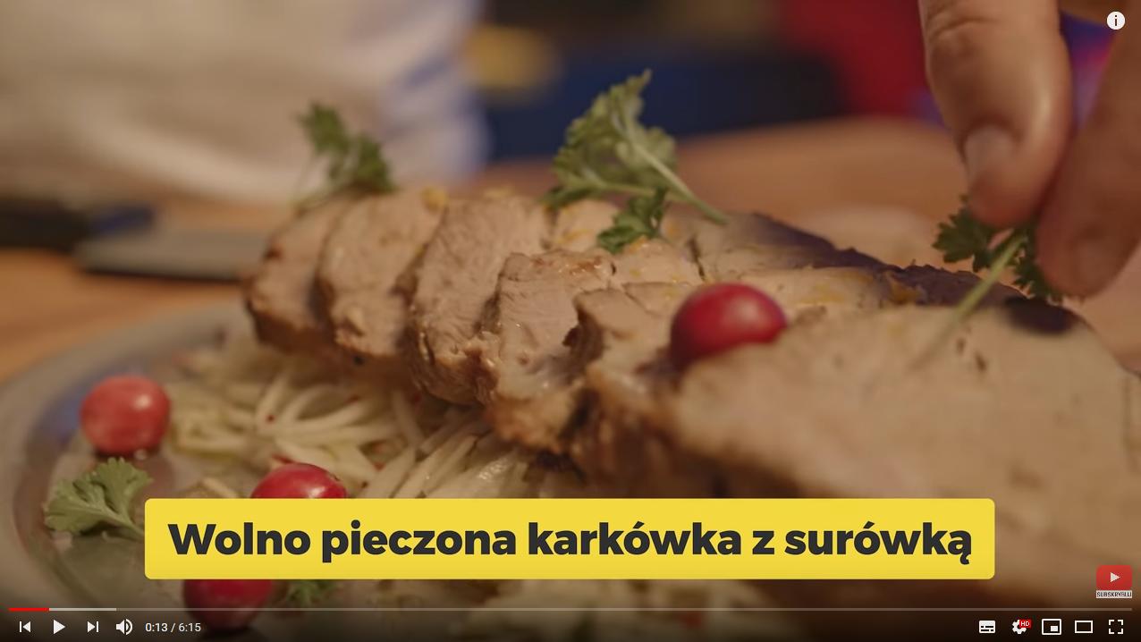 KORZENNA PIECZONA KARKÓWKA | Karol Okrasa & Kuchnia Lidla