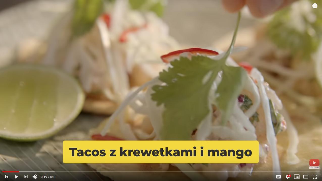 Domowe TACOS zkrewetkami | Karol Okrasa & Kuchnia Lidla