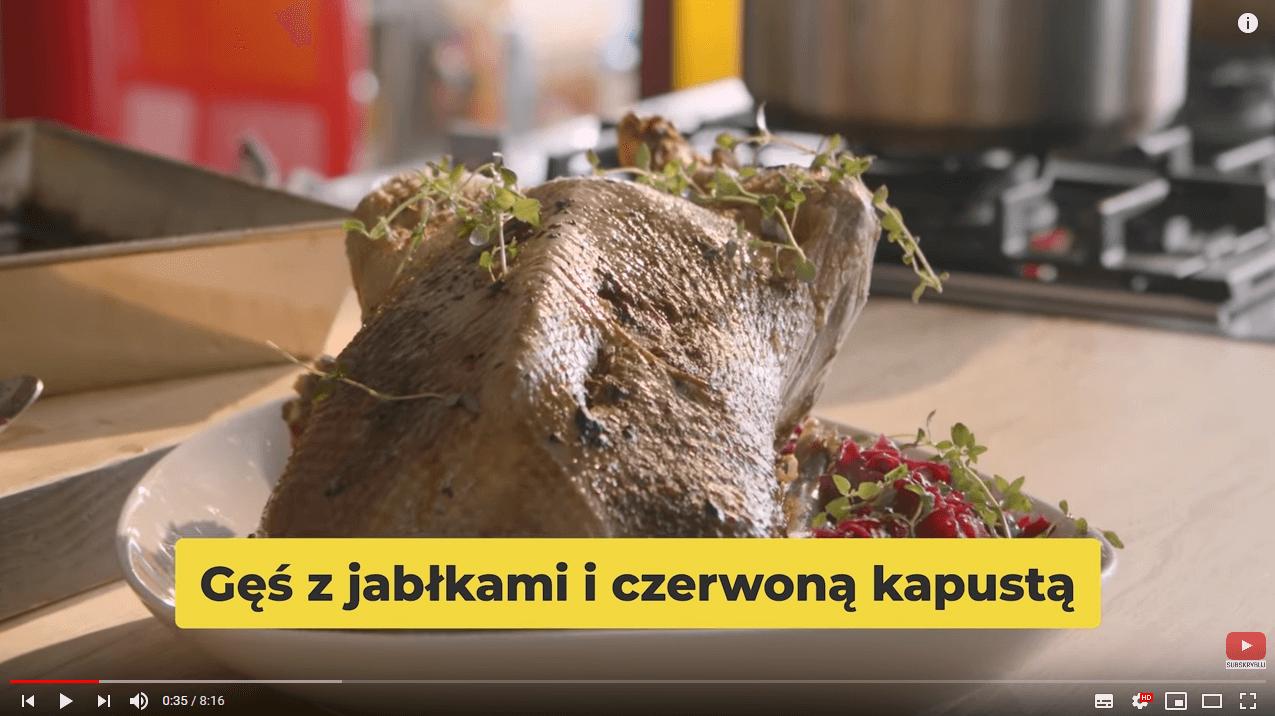 Najlepszy przepis naPIECZONĄ gęś | Karol Okrasa & Kuchnia Lidla