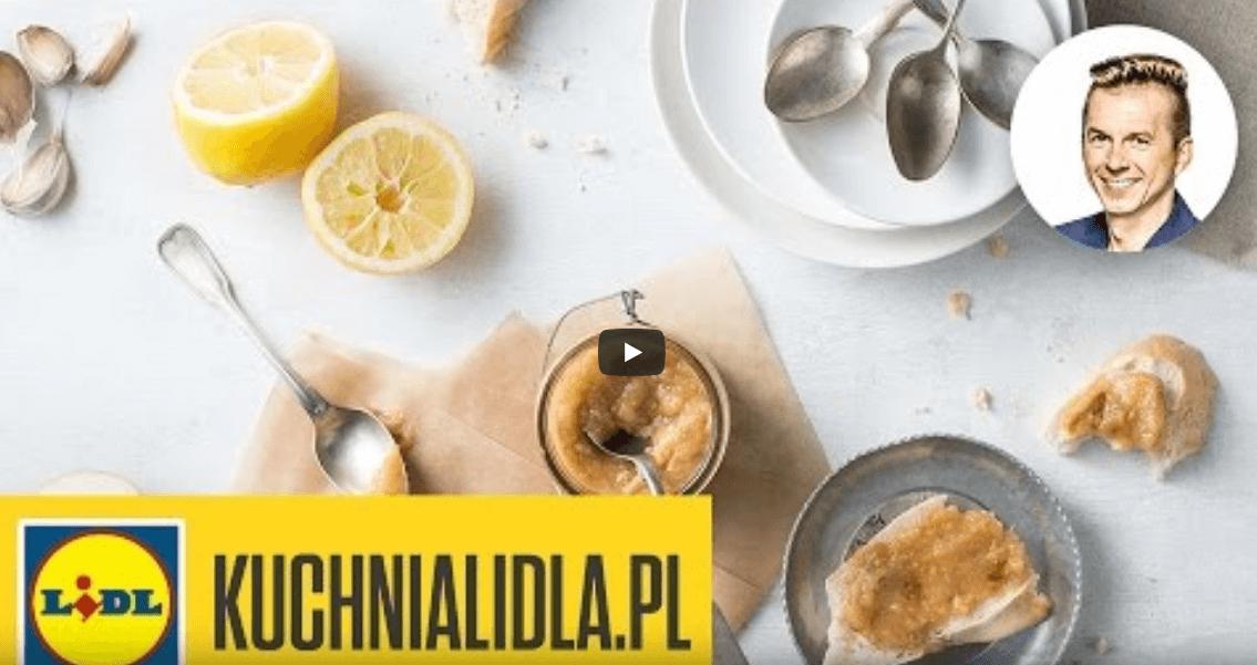 Konfitura zpieczonych jabłek zchrzanem – Karol Okrasa – przepisy Kuchni Lidla