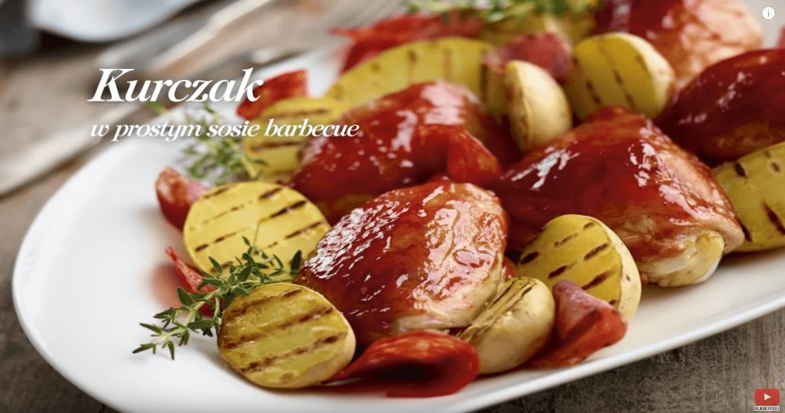 Kurczak poamerykańsku wsosie barbecue – Karol Okrasa – Przepisy Kuchni Lidla