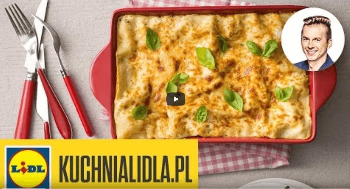 Najlepsze, szybkie lasagne – Karol Okrasa – przepisy Kuchni Lidla