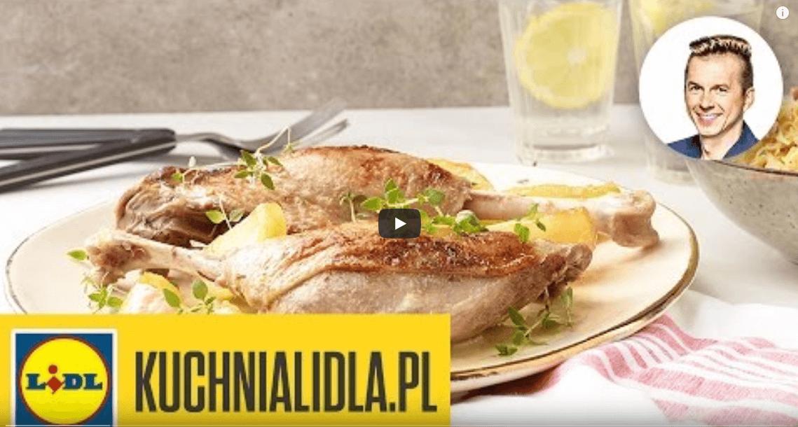 Uda gęsi zjabłkami igrochem smażonym zkapustą – Karol Okrasa – Przepisy Kuchni Lidla