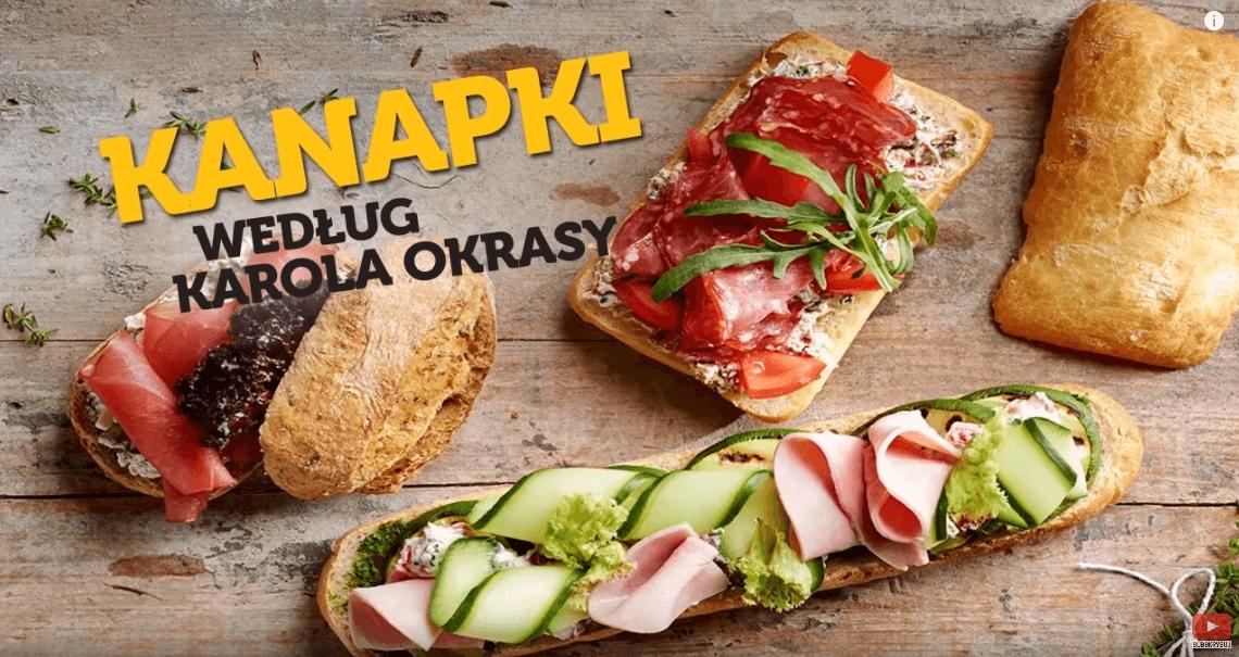 Kanapki Karola Okrasy – Karol Okrasa – Przepisy Kuchni Lidla