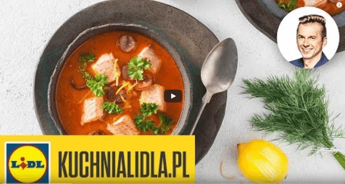 Grochówka rybna – Karol Okrasa – przepisy Kuchni Lidla