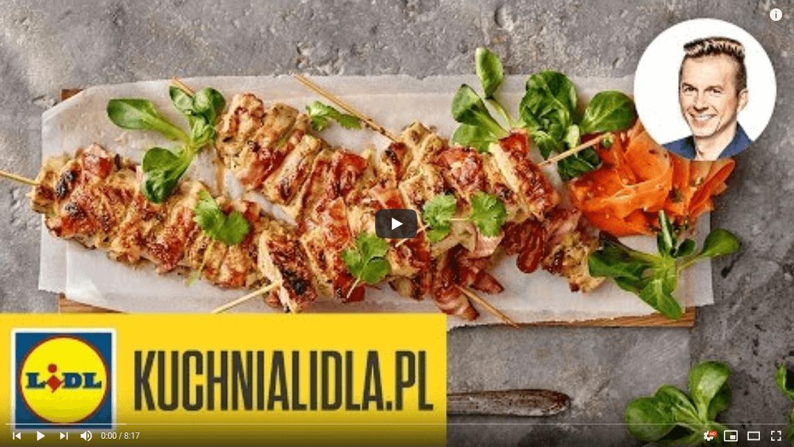 Szaszłyki zkurczaka wsosie sojowym – Karol Okrasa – Przepisy Kuchni Lidla