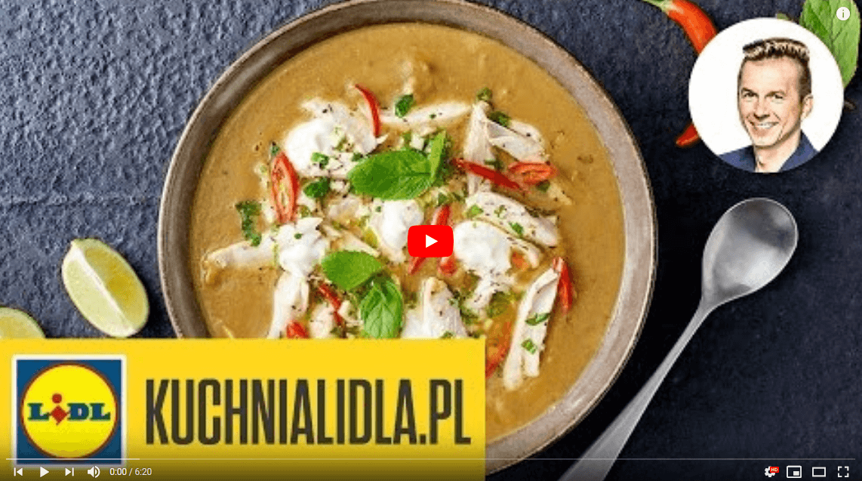 Pikantna zupa zsoczewicą ikrólikiem – Karol Okrasa – Przepisy Kuchni Lidla