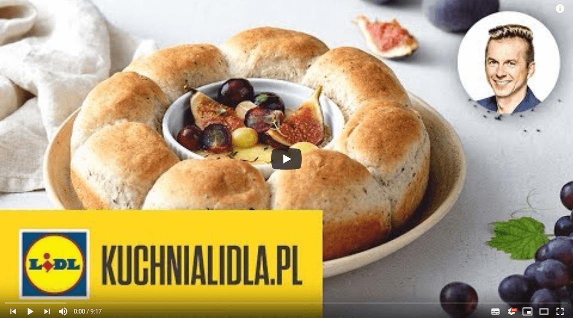 CHLEBOWY WIENIEC ZCAMEMBERTEM 🍞 | Karol Okrasa & Kuchnia Lidla
