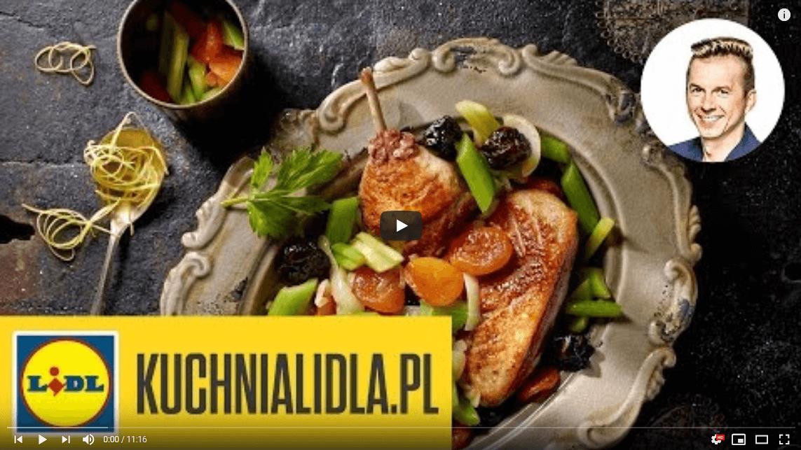 Kaczka duszona zkapustą iśliwkami – Karol Okrasa – Przepisy Kuchni Lidla