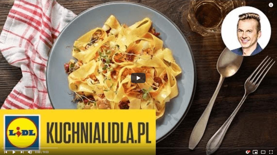 Pappardelle ragout bianco – Karol Okrasa – Przepisy Kuchni Lidla