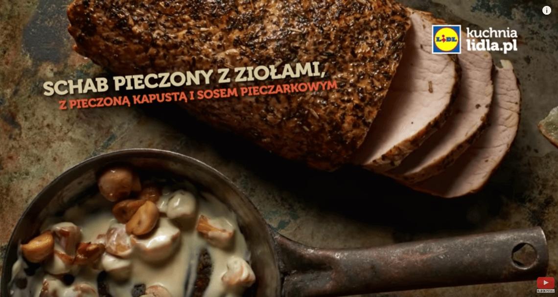 Schab pieczony zziołami – Karol Okrasa – Przepisy Kuchni Lidla