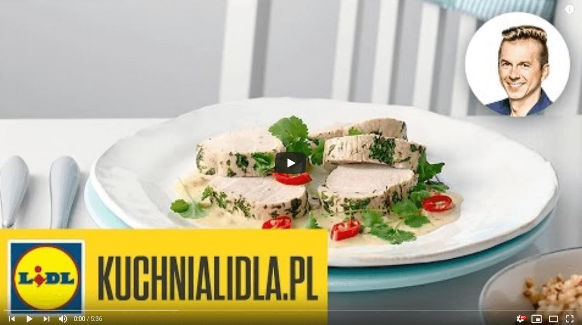 Pierś zindyka zorzechową kaszą isosem curry – Karol Okrasa – Przepisy Kuchni Lidla