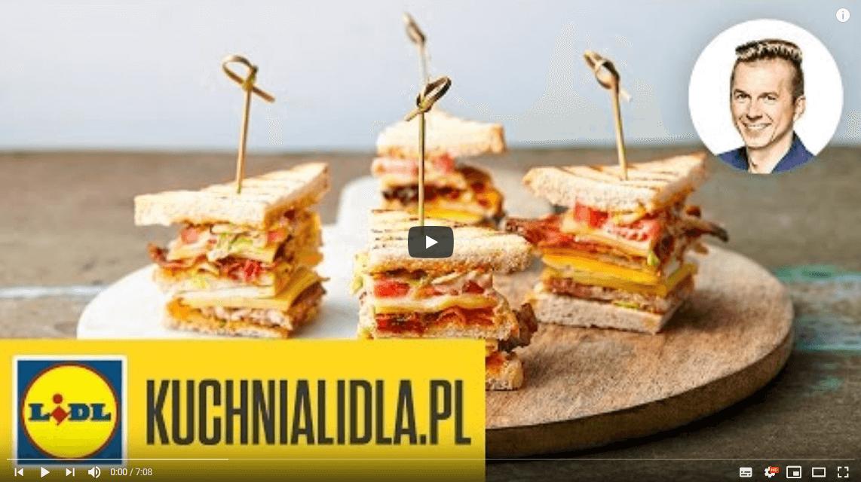 CLUB SANDWICH | Karol Okrasa & Kuchnia Lidla