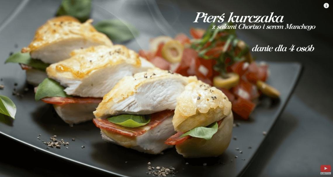 Szybki kurczak zchorizo iserem – Karol Okrasa – Przepisy Kuchni Lidla