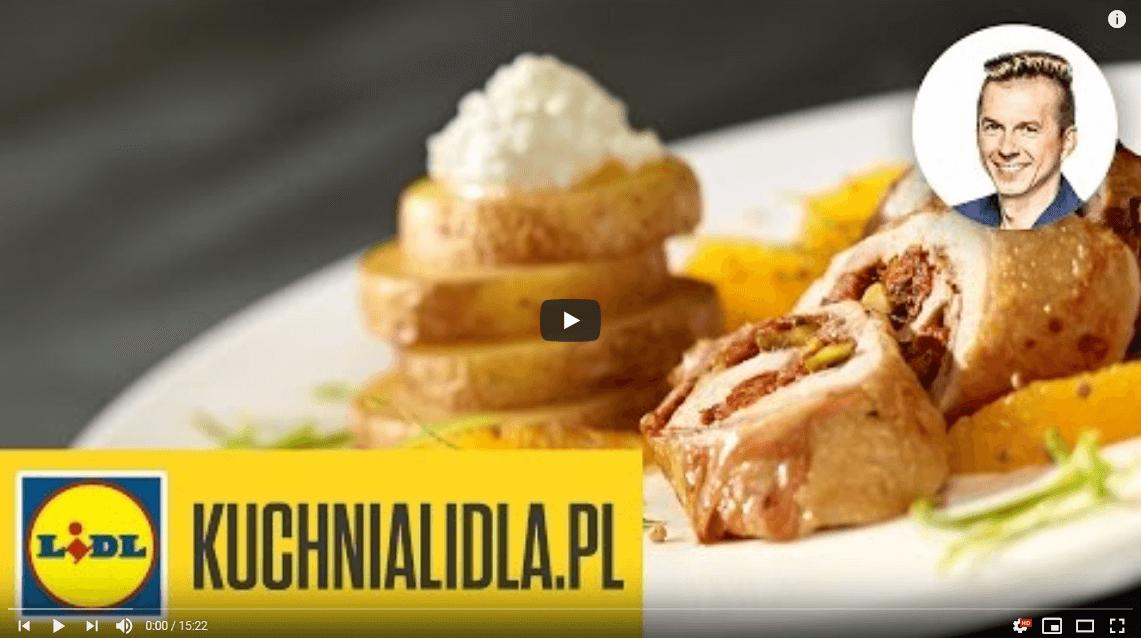 Pieczony kurczak zpistacjami – Karol Okrasa – Przepisy Kuchni Lidla