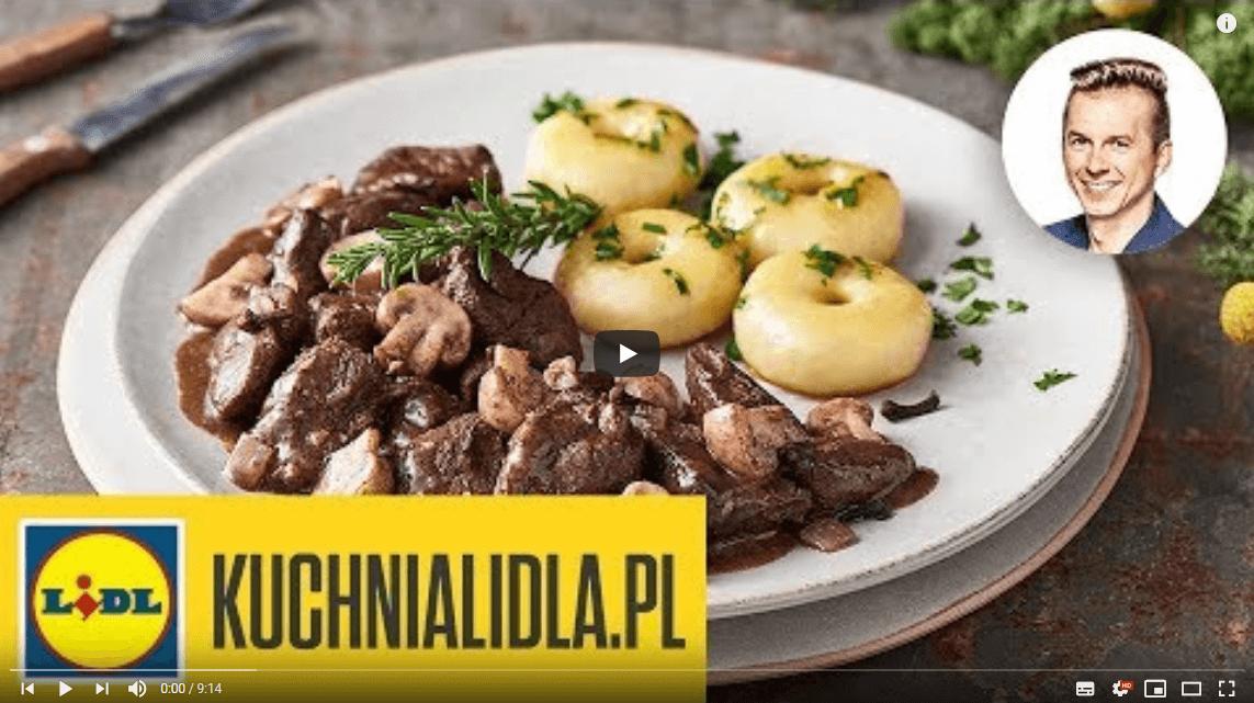 GULASZ ZSARNY zkluskami śląskimi | Karol Okrasa & Kuchnia Lidla