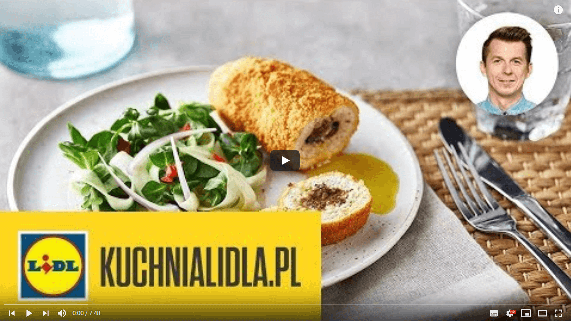 NAJLEPSZY DE VOLAILLE 🍴 | Karol Okrasa & Kuchnia Lidla