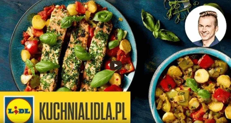 FIlet złososia wpeperonacie – Ryby są super – Przepisy Kuchni Lidla