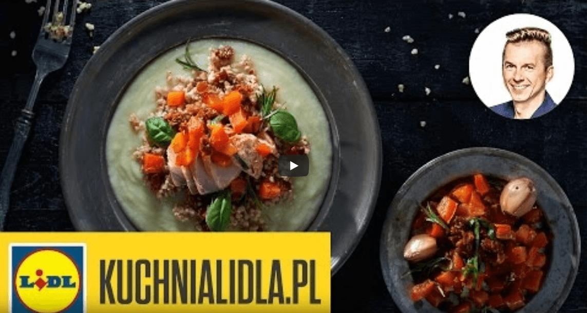 Filet złososia zkaszą jęczmienną ikremem zkalafiora – Ryby są super – Przepisy Kuchni Lidla