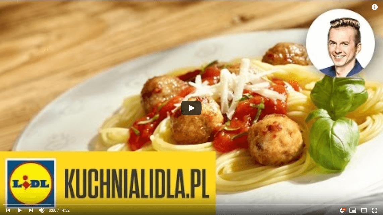 Najlepsze spaghetti zsoczystymi pulpecikami – Karol Okrasa – Przepisy Kuchni Lidla
