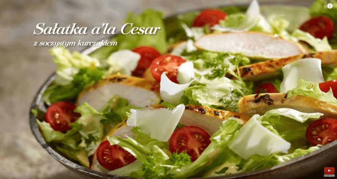 Sałatka a'la Cezar – Karol Okrasa – Przepisy Kuchni Lidla