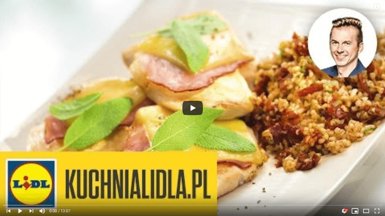 Łatwa saltimbocca zkurczaka – Karol Okrasa – Przepisy Kuchni Lidla