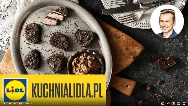POLĘDWICZKI zkozim serem iCZEKOLADĄ | Karol OKRASA