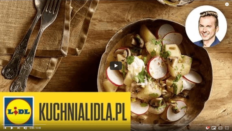 Pieczone warzywa wsosie curry zmlekiem kokosowym – Karol Okrasa – Przepisy Kuchni Lidla