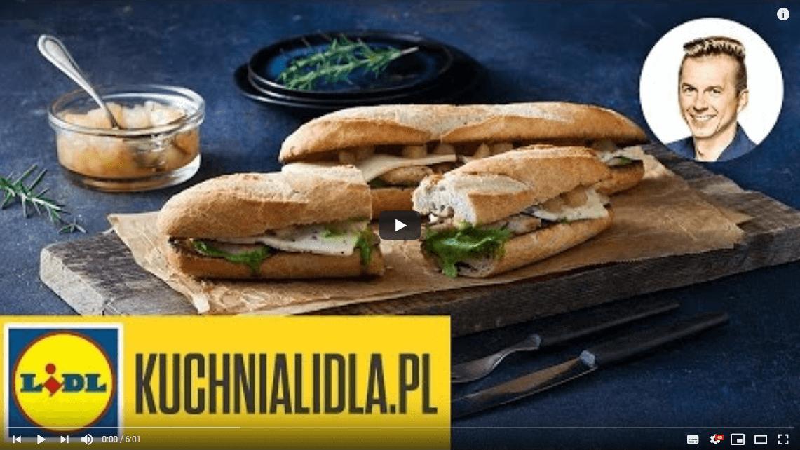 Chrupiąca kanapka zLAZUREM iKURCZAKIEM | Karol Okrasa