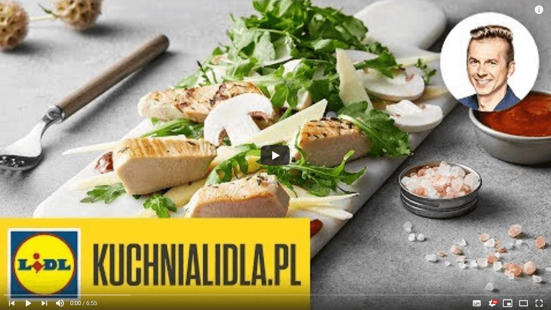 TAGLIATA ZINDYKA ZRUKOLĄ | Karol Okrasa & Kuchnia Lidla