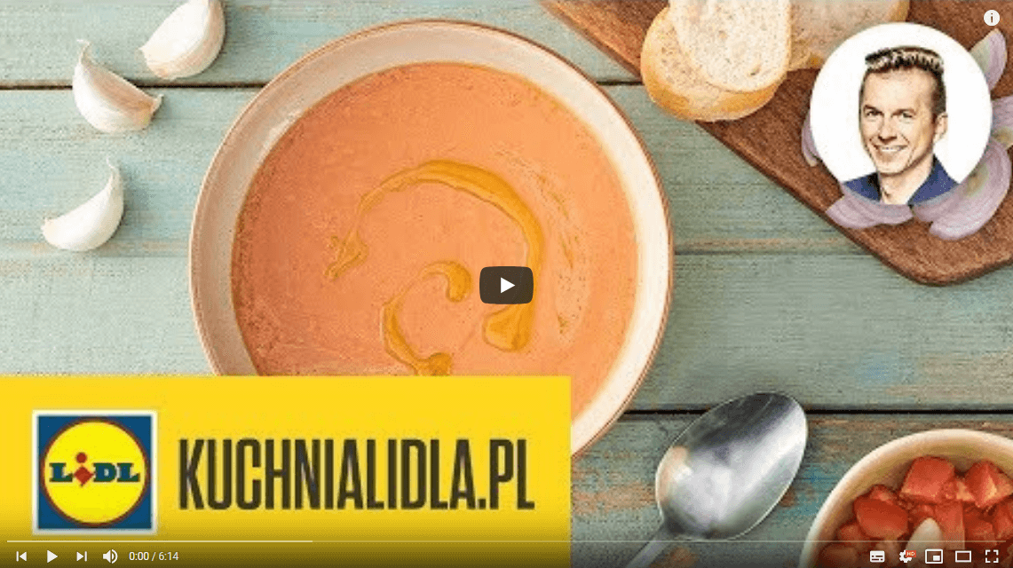 GAZPACHO ZPOMIDORÓW MALINOWYCH 🍅 | Karol Okrasa & Kuchnia Lidla