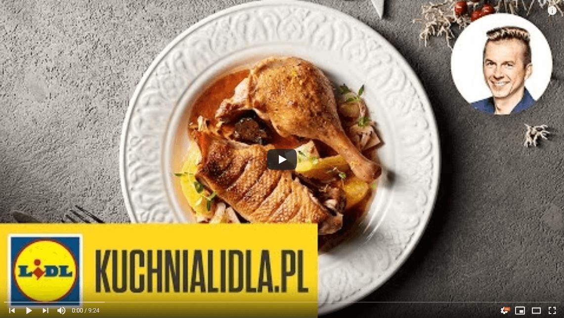 Tradycyjna kaczka wczerwony winie ipowidłach – Karol Okrasa – Przepisy Kuchni Lidl