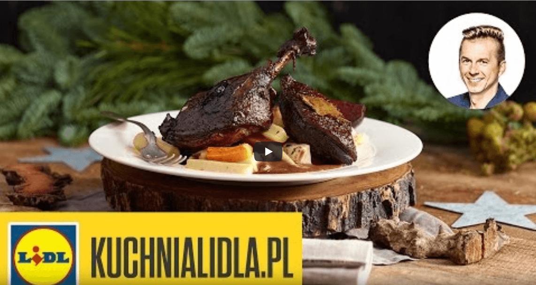 Kaczka wczerwonym winie – Karol Okrasa – Przepisy Kuchni Lidla