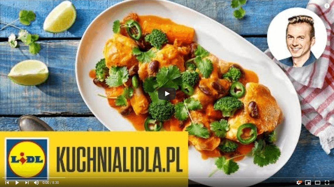 Potrawka zkurczaka zfasolą – Karol Okrasa – Przepisy Kuchni Lidla