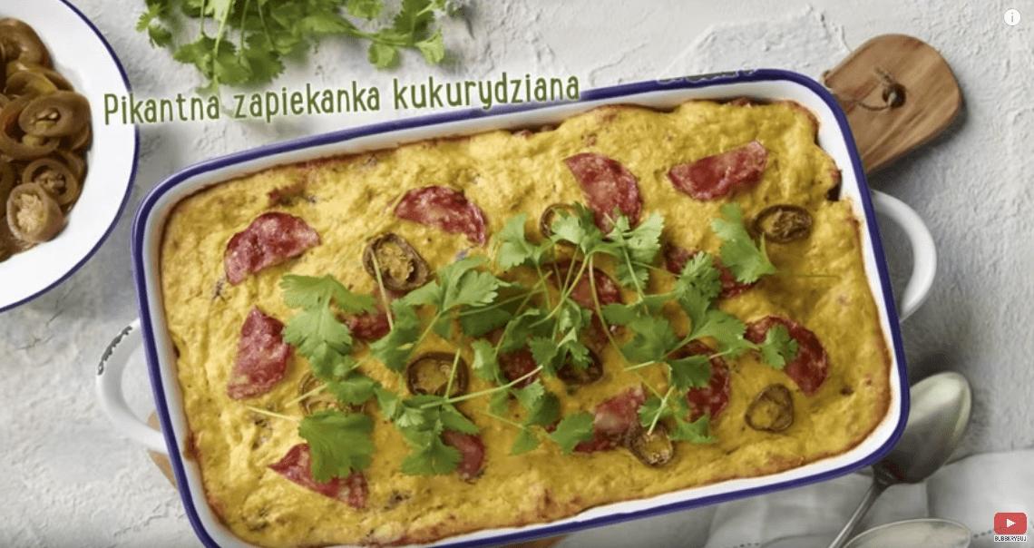 Zapiekanka kukurydziana zgulaszem – Karol Okrasa – Przepisy Kuchni Lidla