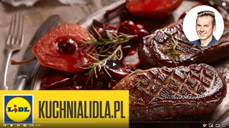 Pierś gęsi zgruszkami iburakami – Karol Okrasa – Przepisy Kuchni Lidla