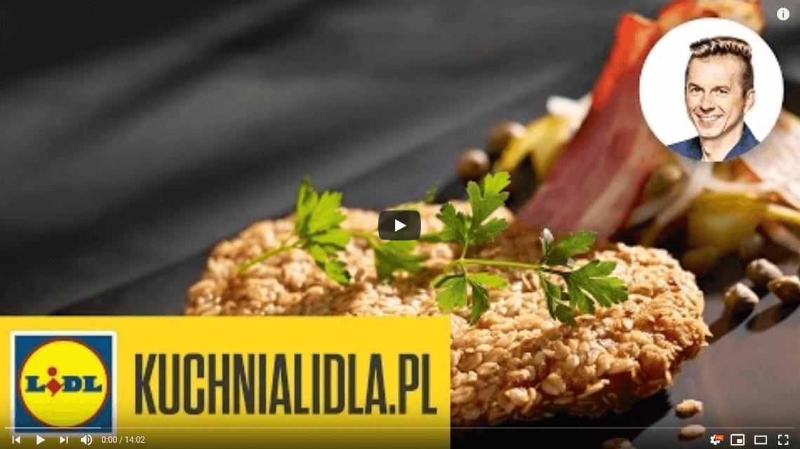 Sznycel wpanierce owsianej zsałatką zziemniaków – Karol Okrasa – Przepisy Kuchni Lidla