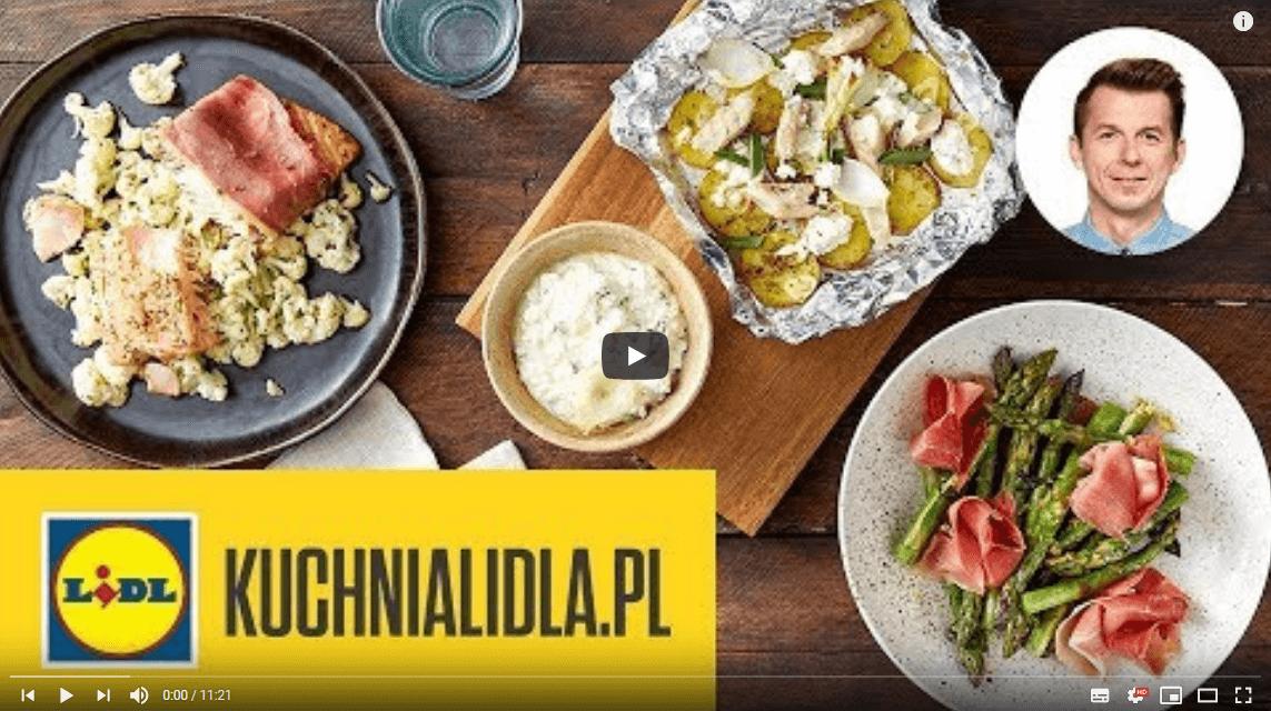 3 DANIA GRILLOWANE WFOLII: łosoś, szparagi imłode ziemniaki 🔥 | Karol Okrasa & Kuchnia Lidla