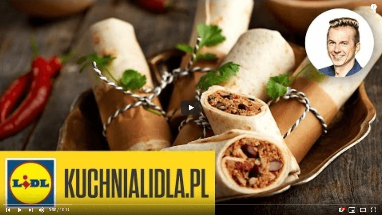 Szybkie burrito – Karol Okrasa – przepisy Kuchni Lidla