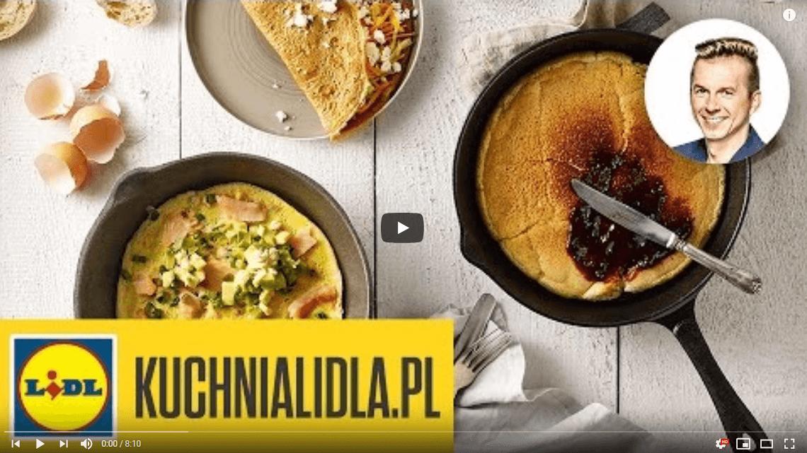 Omlet natrzy sposoby – Karol Okrasa – Przepisy Kuchni Lidla