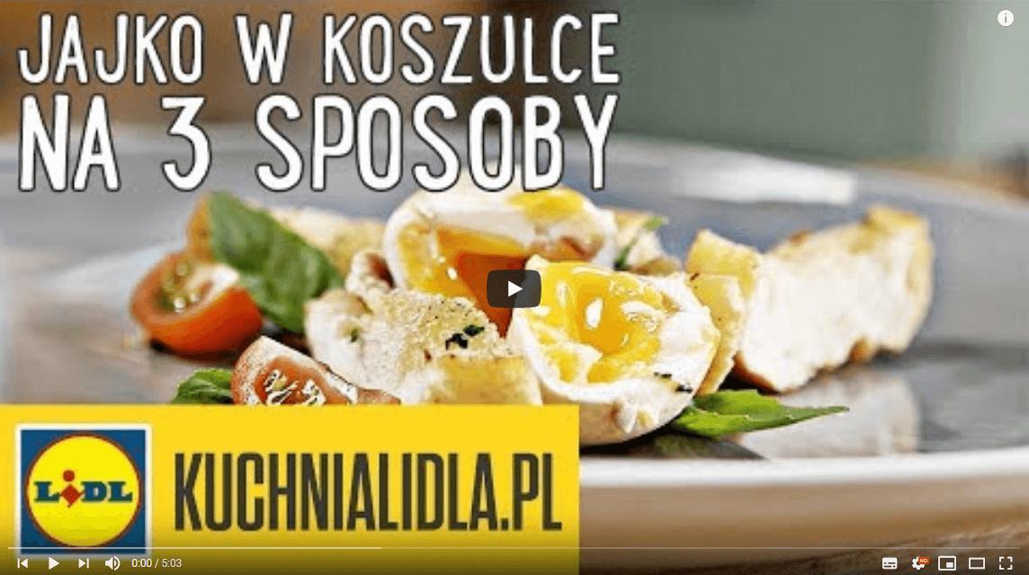 JAJKO WKOSZULCE na3 sposoby | Karol Okrasa & Kuchnia Lidla