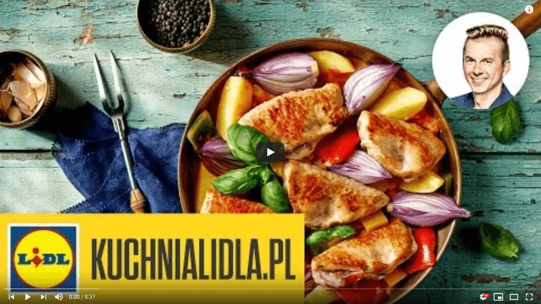 Schab zbazylią iszynką szwarcwaldzką – Karol Okrasa – Przepisy Kuchni Lidla