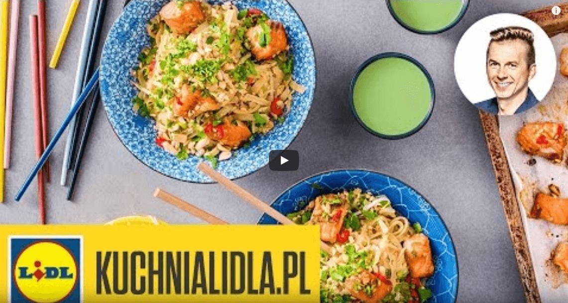 Pad thai złososiem – Karol Okrasa – przepisy Kuchni Lidl