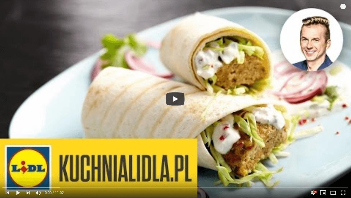 Najlepszy pikantny kebab zsosem jogurtowym – Karol Okrasa – Przepisy Kuchni Lidla