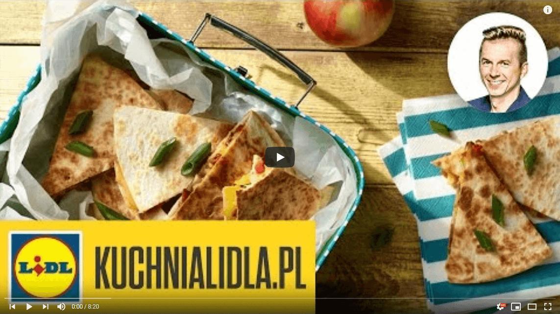 Proste tortille dladzieci zserem ipieczarkami – Karol Okrasa – Przepisy Kuchni Lidla