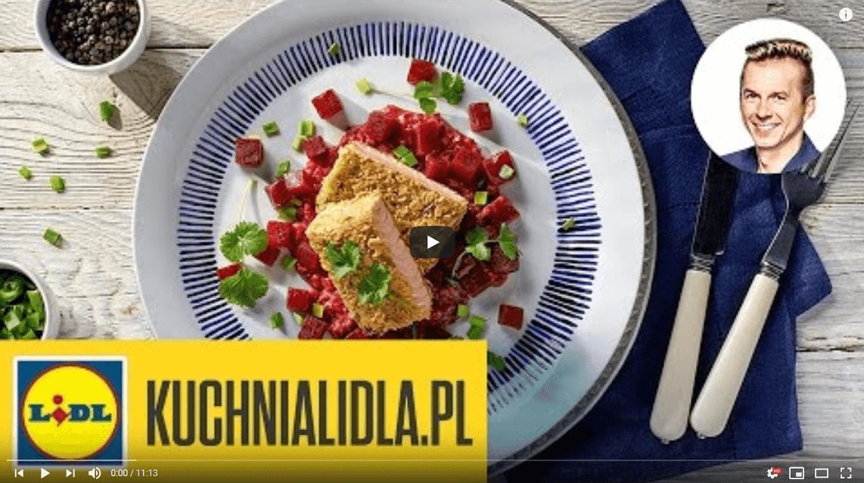 Chrupiący łosoś zpurpurową owsianką – Karol Okrasa – Przepisy Kuchni Lidla