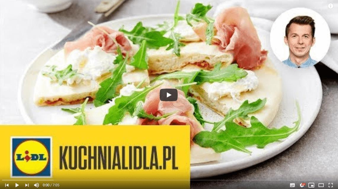 FASZEROWANA PIZZA ZGRILLA 🍕 | Karol Okrasa & Kuchnia Lidla