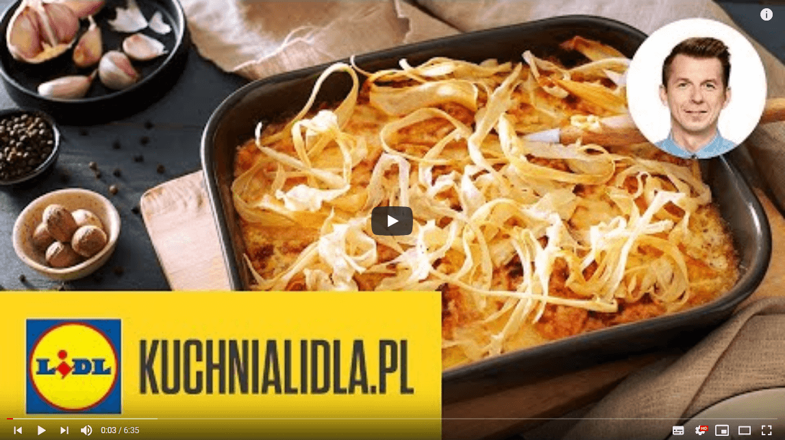 Zapiekanka ZDYNI + chipsy zpietruszki 🥘 | Karol Okrasa & Kuchnia Lidla